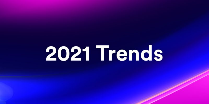 2021 tech trends, including hyperautomation and IoB.